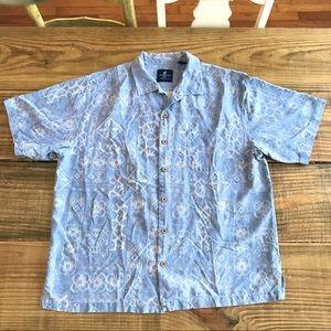 Caribbean Joe vintage silk shirt